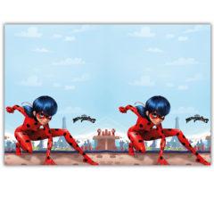 Miraculous Ladybag - Plastic Tablecover 120x180 cm - 91347