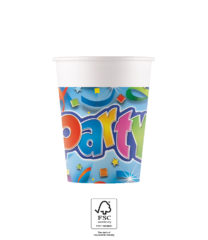 Party Streamers - Paper Cups 200 ml FSC - 91440
