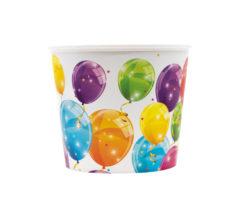 Sparkling Balloons - Reusable Pop-Corn Bucket 2,2 L - 91637