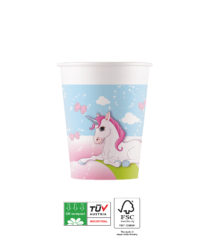 Unicorn Compostable - Industrial Compostable Paper Cups 200 ml FSC - 91665