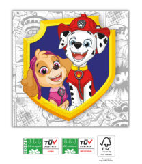 Paw Patrol Yelp For Action Compostable - Home & Industrial Compostable Three-Ply Napkins 33x33 cm FSC - 91668