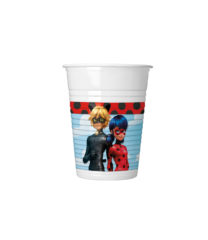 Miraculous Ladybag - Plastic Cups 200 ml - 91685