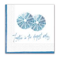 Everyday Napkin Designs - Sea Urchin Three-Ply Paper Napkins 33x33 cm. - 91817