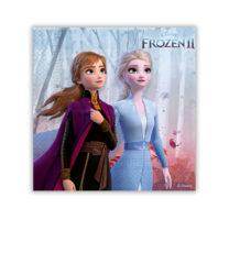 Frozen 2 - Two-Ply Paper Napkins 25x25 cm - 91820