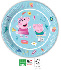 Peppa Pig Star Shine Compostable - Industrial Compostable Paper Plates 23 cm FSC - 91877