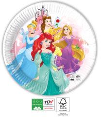 Princess Fabulous Compostable - Industrial Compostable Paper Plates 23 cm FSC - 91882