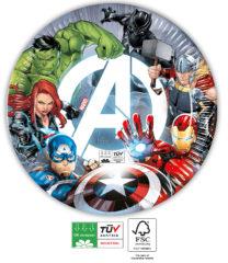 Avengers Fight Compostable - Paper Plates 23 cm FSC - 91902