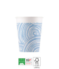 Blue Circles Compostable - Industrial Compostable Paper Cups 200 ml FSC - 92127