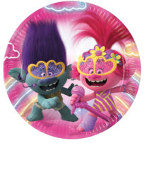 Trolls 2 World Tour - Paper Plates 23 cm - 92141