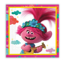 Trolls 2 World Tour - Two-Ply Paper Napkins 33x33 cm - 92142