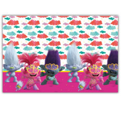 Trolls 2 World Tour - Plastic Tablecover 120x180 cm - 92143