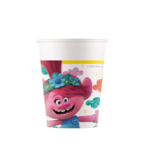 Trolls 2 World Tour - Paper Cups 200 ml - 92218