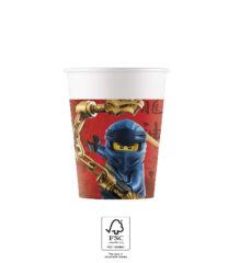 Lego Ninjago - Paper Cups 200 ml FSC. - 92240