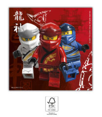 Lego Ninjago - Paper Napkins 33x33 cm FSC. - 92241
