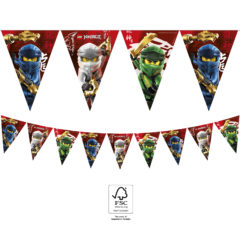 Lego Ninjago - Paper Flag Banner FSC. - 92243