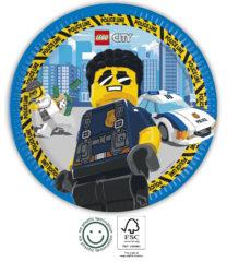 Lego City - Paper Plates 23 cm FSC. - 92246