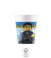 Lego City - Paper Cups 200 ml FSC. - 92247