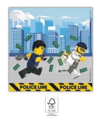 Lego City - Paper Napkins 33x33 cm FSC. - 92248