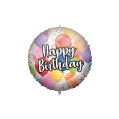Shaped Foil Balloons - Happy Birthday Balloons Foil Balloon 46 cm. - 92424