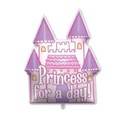 Shaped Foil Balloons - Princess Castle Foil Balloon 94 cm. - 92442