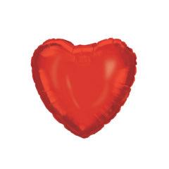Shaped Foil Balloons - Red Heart Foil Balloon 46 cm. - 92456