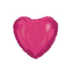 Shaped Foil Balloons - Pink Heart Foil Balloon 46 cm. - 92459