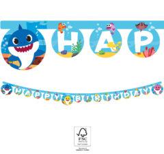 "Baby Shark - Paper Letter Banner ""Happy Birthday"" FSC. - 92545"