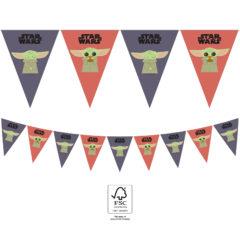Star Wars The Mandalorian - Flag Banner FSC 25x18 cm. - 93133