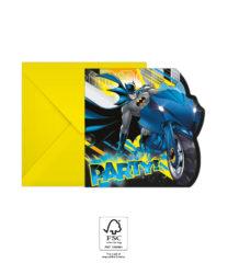 Batman Rogue Rage - Invitations & Envelopes FSC. - 93358