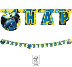 "Batman Rogue Rage - ""Happy Birthday"" Die-Cut Banner 2 m. FSC. - 93359"