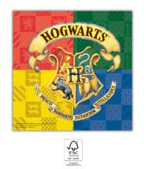 Harry Potter Hogwarts Houses - Two-Ply Paper Napkins 33x33 cm. FSC. - 93366