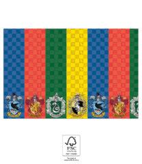 Harry Potter Hogwarts Houses - Paper Tablecover 120x180 cm. FSC. - 93367