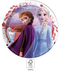 Frozen 2 - Paper Plates 23 cm. FSC. - 93430
