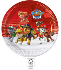 Paw Patrol Ready for Action - Paper Plates 23 cm. FSC. - 93435