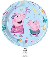 Peppa Pig Messy Play - Paper Plates 23 cm. FSC. - 93436