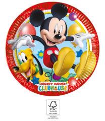Playful Mickey - Paper Plates 23 cm. FSC. - 93438