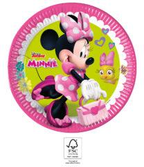 Minnie Happy Helpers - Paper Plates 23 cm. FSC. - 93439