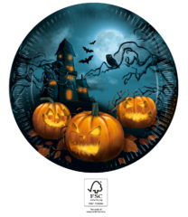 Halloween Sensations - Paper Plates 23 cm FSC. - 93449