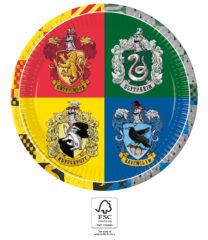 Harry Potter Hogwarts Houses - Paper Plates 23 cm. FSC. - 93451