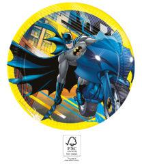 Batman Rogue Rage - Paper Plates 23 cm. FSC. - 93452