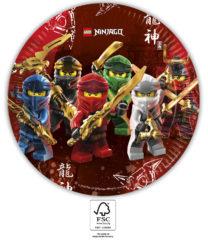 LEGO® Ninjago - Paper Plates 23 cm. FSC. - 93455