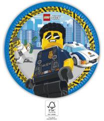 LEGO® City - Paper Plates 23 cm. FSC. - 93456