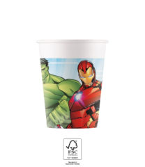 Mighty Avengers - Paper Cups 200 ml FSC. - 93467