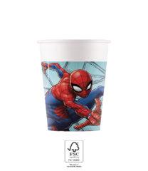 Spider-Man Team Up - Paper Cups 200 ml FSC. - 93468