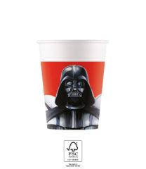 Star Wars Final Battle - Paper Cups 200 ml FSC. - 93475