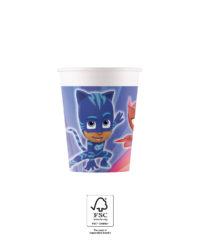 Pj Masks - Paper Cups 200 ml FSC. - 93476