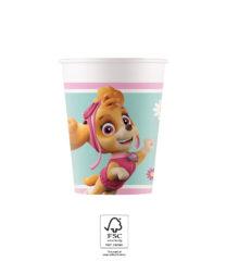 Paw Patrol Skye & Everest - Paper Cups 200 ml FSC. - 93477