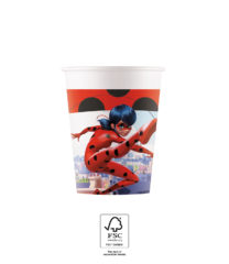 Miraculous Ladybag - Paper Cups 200 ml FSC. - 93479