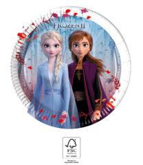 Frozen 2 - Paper Plates 20 cm. FSC. - 93484