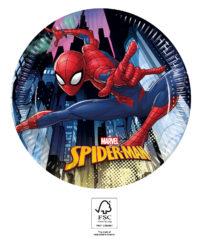 Spider-Man Team Up - Paper Plates 20 cm. FSC. - 93486